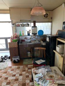 遺品整理キッチン
